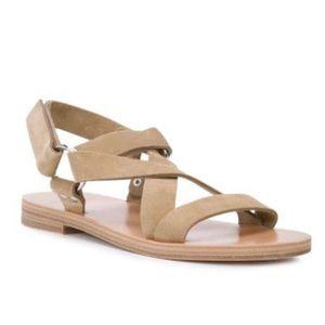 Pierre Hardy Tenerife Suede Sandals